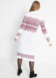 Strick-Maxikleid mit Norwegermuster, bpc bonprix collection