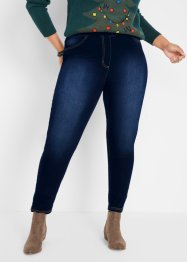 High Waist Jeggings mit Thermo-Stretch Funktion, Bequembund, bpc bonprix collection