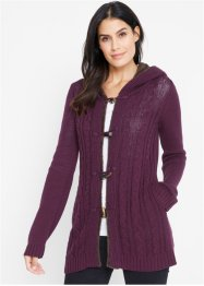 Strickjacke mit Knebelverschluss, bpc bonprix collection