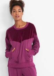 Funktions-Thermo-Shirt mit Samtbesatz, langarm, bpc bonprix collection