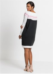 Strickkleid mit Muster, BODYFLIRT boutique