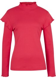 Rippshirt mit Schulterdetail, bpc bonprix collection