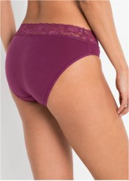 Slip mit Spitze (5er-Pack), bpc bonprix collection