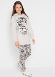 Sweatshirt + Leggings (2-tlg.), bpc bonprix collection