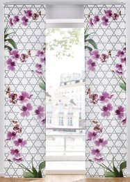 Schiebegardine mit Blumen Druck (1er Pack), bpc living bonprix collection