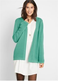 Gerippte Strickjacke, bpc bonprix collection