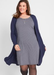 2 in 1 Kleid, langarm, bpc bonprix collection