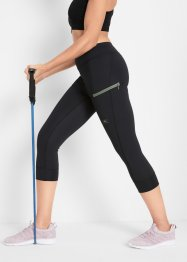 Sportliche Funktions-Capri-Leggings, Level 3, bpc bonprix collection