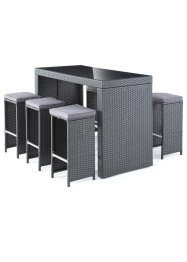 Outdoor Bar-Set (7-tlg.Set), bpc living bonprix collection