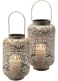 Windlicht Ornament (2-tlg. Set), bpc living bonprix collection