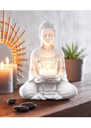 Deko-Figur Buddha mit Teelichthalter, bpc living bonprix collection
