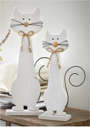 Deko-Figur Katzen (2-tlg.Set), bpc living bonprix collection
