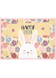 Fußmatte mit Happy Easter Schriftzug, bpc living bonprix collection