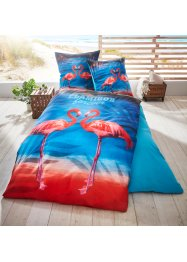 Wendebettwäsche mit Flamingo, bpc living bonprix collection