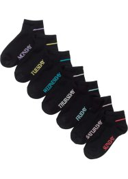Sneaker Socken (7er Pack) Bio-Baumwolle, bpc bonprix collection