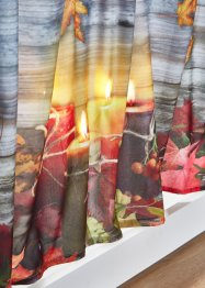 LED-Scheibengardine mit herbstlichem Druck, bpc living bonprix collection