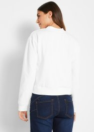 Basic Sweatshirt mit Stehkragen, bpc bonprix collection