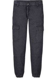 Regular Fit Cargo-Jeans aus Bio Baumwolle, Straight, RAINBOW