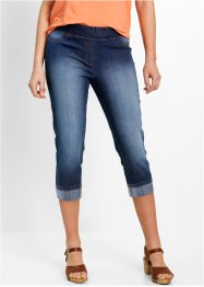 3/4-Baumwoll-Jeggings mit Bequembund, bpc bonprix collection