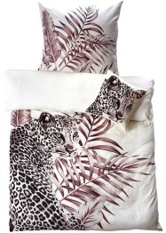 Bettwäsche mit Leopard, bpc living bonprix collection