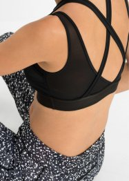 Sport Bustier Level 1 aus recyceltem Polyester, bpc bonprix collection - Nice Size