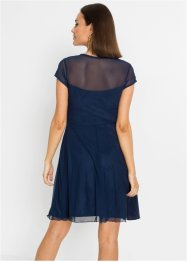 Mesh-Kleid mit Applikation, BODYFLIRT