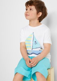 Jungen T-Shirt Bio-Baumwolle (2er Pack), bpc bonprix collection