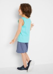 Jungen T-Shirt + Tanktop + Bermudas (4-tlg.Set), bpc bonprix collection