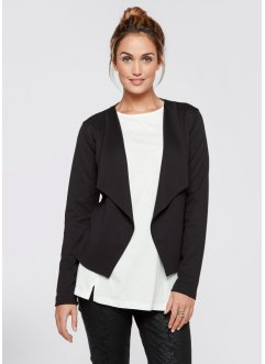 Shirt-Blazer, bpc bonprix collection, schwarz