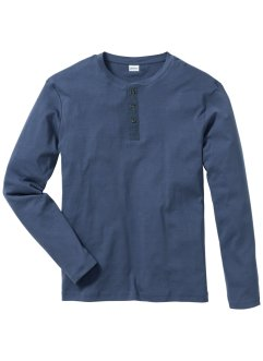 Langarm-Shirt Regular Fit, John Baner JEANSWEAR, indigo