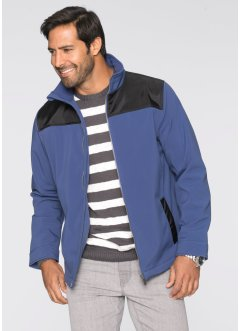 Softshell-Jacke Regular Fit, bpc selection, kieselgrau