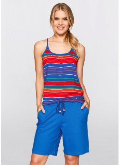 Stretch-Top, bpc bonprix collection, azurblau