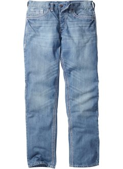 Jeans STRAIGHT, RAINBOW, medium blue bleached