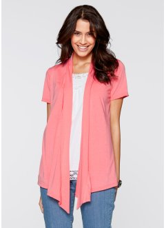 Shirt-Jacke, bpc bonprix collection, neonrosa