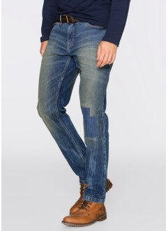 Stretchjeans Regular Fit Tapered, John Baner JEANSWEAR, blau