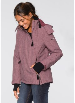 Funktions-Outdoorjacke, bpc bonprix collection, ahornrot