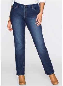 Stretch-Jeans, STRAIGHT, Recycle, dunkelblau