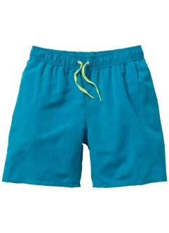 Badeshorts Jungen, bpc bonprix collection, dunkeltürkis