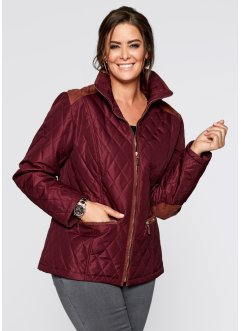 Steppjacke, bpc selection, ahornrot/cognac