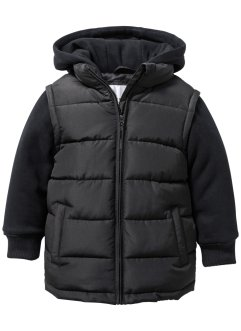 Wattierte Jacke, bpc bonprix collection, schwarz