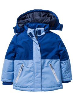 Schneejacke, bpc bonprix collection, mittelblau/enzianblau