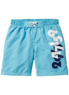 Badeshorts Jungen, bpc bonprix collection, türkis