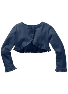 Bolero Jacke, bpc bonprix collection, dunkelblau
