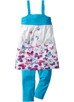 Kleid + 3/4-Leggings (2-tlg. Set), bpc bonprix collection