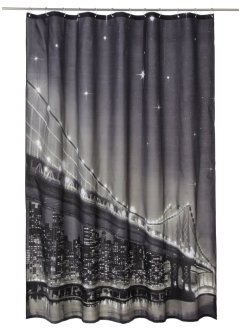 "LED-Duschvorhang ""Brooklyn Bridge"", bpc living"