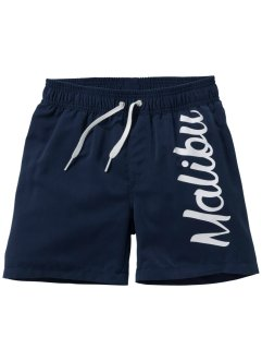 Badeshorts Jungen, bpc bonprix collection, dunkelblau
