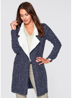 Strickjacke mit Fleece, bpc bonprix collection
