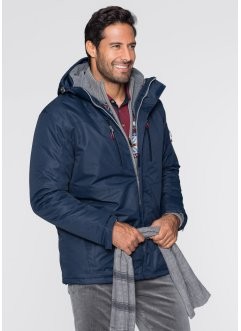 3-in-1-Allwetter-Jacke, bpc bonprix collection, dunkelblau