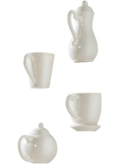 "Wanddeko ""Coffee"" (4-tlg. Set), bpc living"