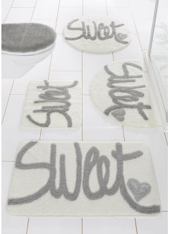 "Badematte ""Sweet"", bpc living, grau"